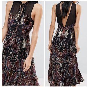 🆕 FREE PEOPLE Maxi Dress, Size 4, NWT
